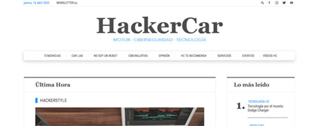 Diseño Web para Hacker Car