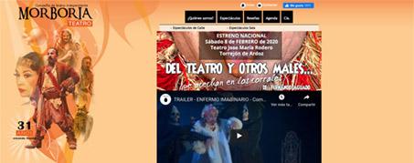 Diseño Web para Morboria Teatro