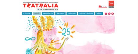 Diseño Web para Tetralia 2021 en Madrid
