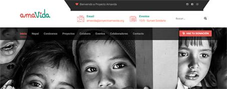 Diseño Web para Ama VIda