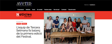 Diseño Web para AVETID, Valencia