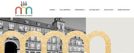 Diseño Web para Aniversario de la Plaza Mayor de Madrid