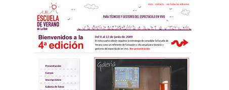 Diseño Web para Escuela de Verano