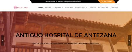Diseño Web para Hospital de Antezana en Alcalá de Henares