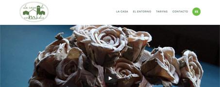 Diseño Web para La Casa de Enmedio en Olmeda de las Fuentes