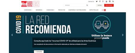 Diseño Web para Redescena, Madrid