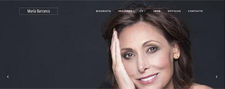 Diseño Web para María Barranco