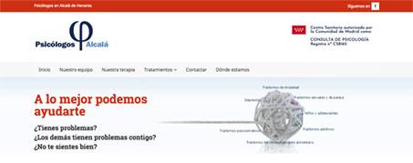 Diseño Web para Psicólogos Alcalá en Alcalá de Henares