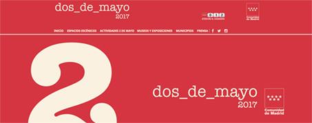 Diseño Web para El 2 de Mayo en Madrid