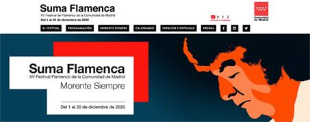 Diseño Web para Suma Flamenca en Madrid