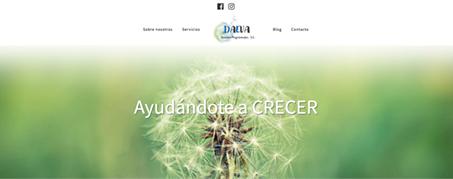 Diseño Web para Daeva