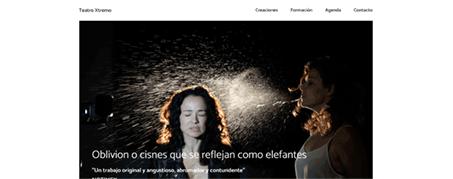 Diseño Web Teatro Xtremo