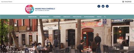 Diseño Web para GastroFestival Madrid